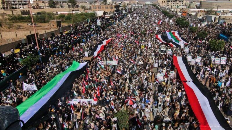 """صعدة: اليمنيون يُباركون عملية """"نصر من الله"""""""