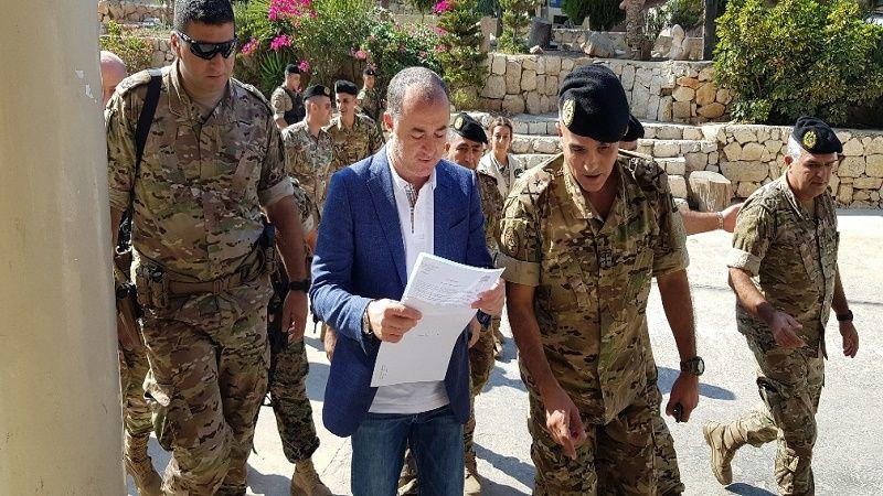 وزير الدفاع تفقد مواقع حدودية شمالية: الجيش حاسم في تنفيذ اجراءاته وسيتم منع التهريب