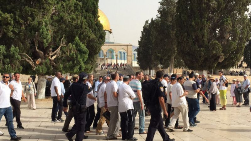 الخارجية الفلسطينية تطالب المجتمع الدولي بالتحرك العاجل لحماية المسجد الأقصىي