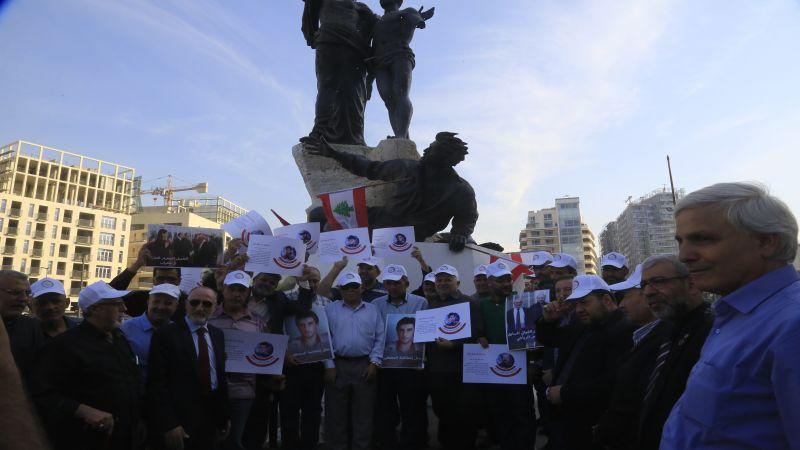 هيئة الاسرى تنفذ وقفة احتجاجية رفضاً للتدخل الاميركي في قضية العميل الفاخوري