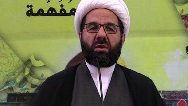 الشيخ دعموش: حزب الله لن يستسلم امام العقوبات والضغوط الامريكية