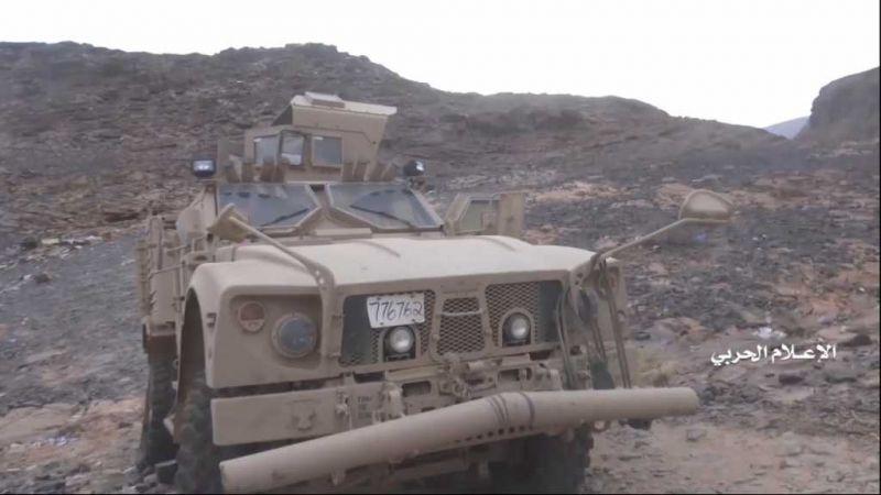 """بالفيديو: مشاهد جديدة من عملية """"نصر من الله"""" اليمنية"""