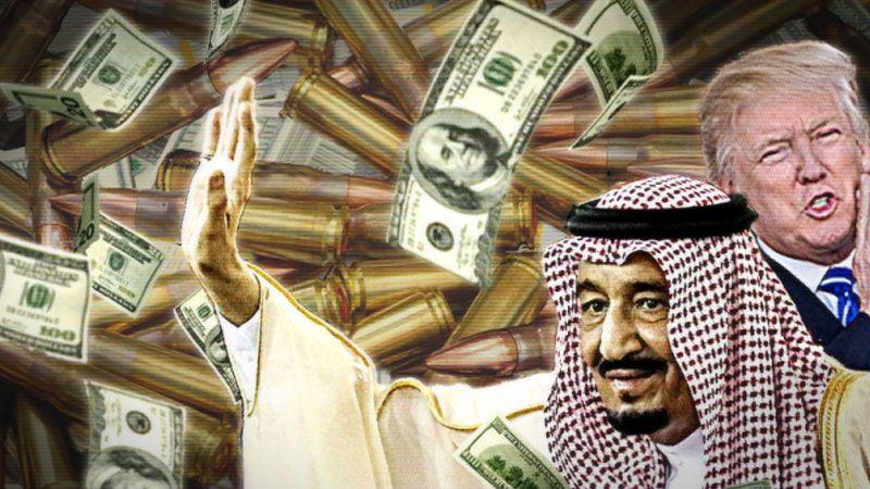 مجدّدًا المال السعودي مقابل الحماية الأمريكية