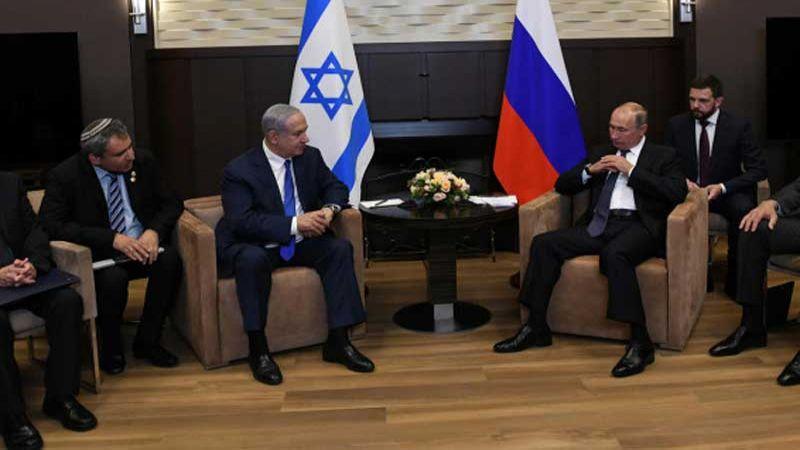 """أزمة بين """"إسرائيل"""" وروسيا"""