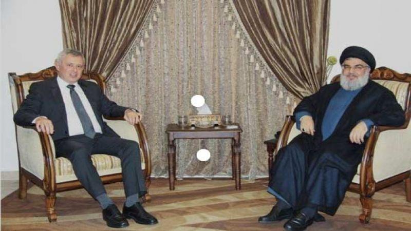 السيد نصر الله التقى فرنجية وتأكيد على عودة العلاقات بين لبنان وسوريا والحفاظ على الإستقرار المالي