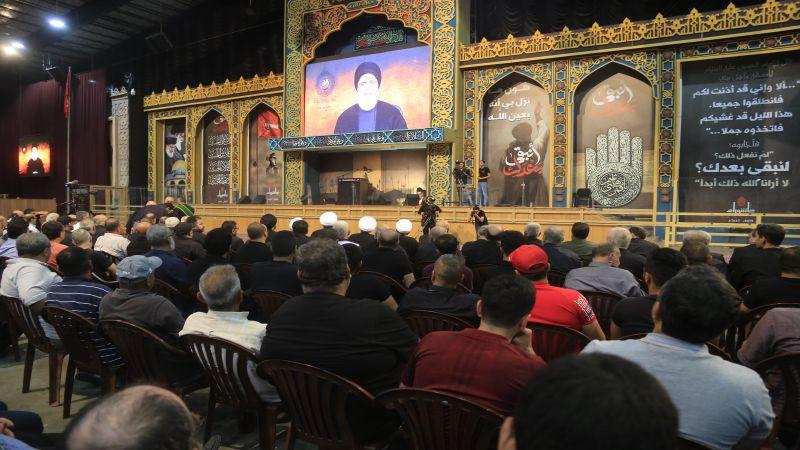 السيد نصرالله: أثبت اللبنانيون انهم فوق الاختلافات الطائفية والمذهبية