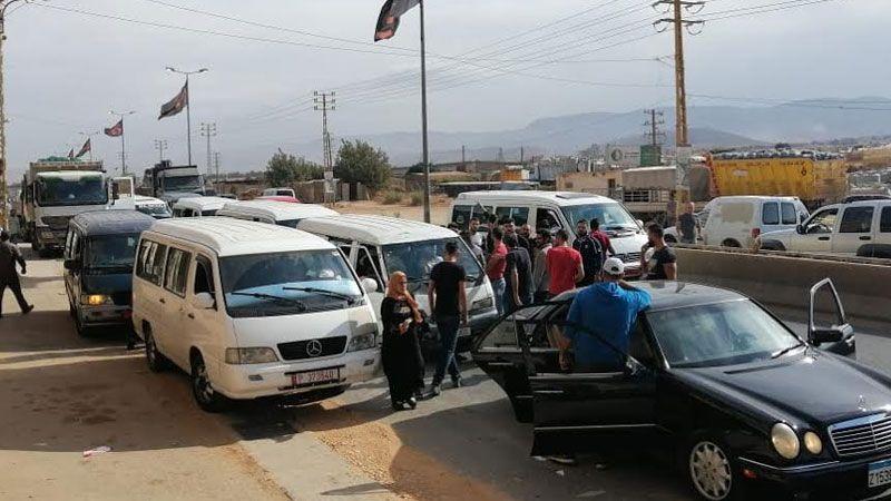 اعتصام لأصحاب الفانات العاملة على المازوت احتجاجًا على ملاحقتهم