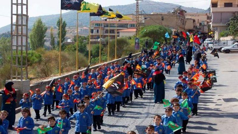 مسيرة حسينية لمدارس المهدي(ع) في مشغرة