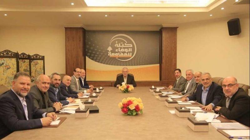 """""""الوفاء للمقاومة"""": استئناف العلاقات بين لبنان وسوريا لا ينبغي أن يرتبط بتوقيت معين"""