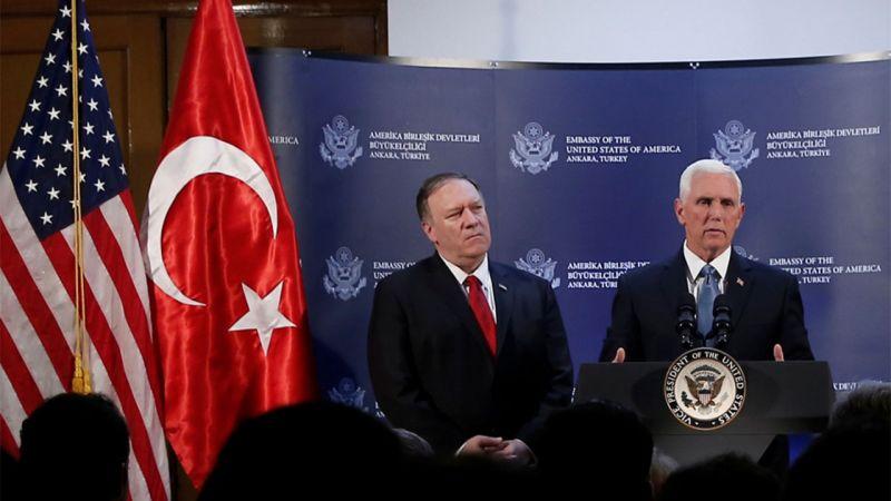 إتفاق تركي أميركي لوقف العدوان التركي في شمال سوريا