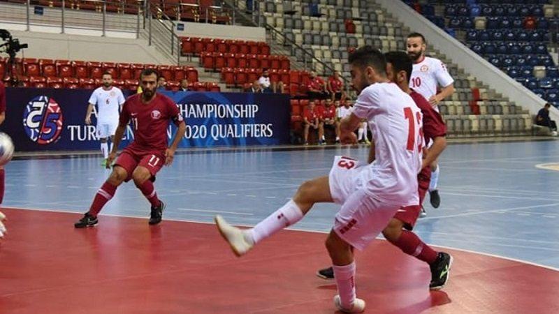 لبنان يكتسح قطر ويبلغ نهائيات بطولة آسيا لكرة الصالات