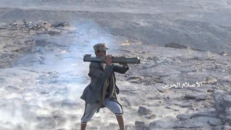 اليمن: أكثر من 30 غارة للعدوان خلال 12 ساعة وإحباط محاولة تسلل في تعز