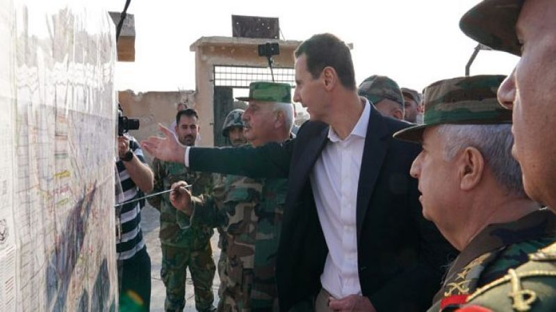 زيارة الرئيس الأسد إلى جبهات ادلب.. دلالات ورسائل