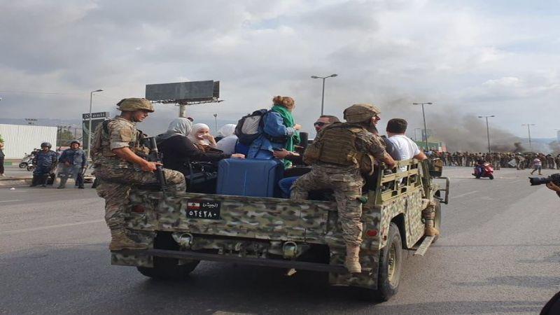 الجيش اللبناني للمتظاهرين: ملتزمون بحمايتكم