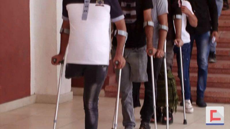 جرحى مسيرات العودة: شفاء الجروح