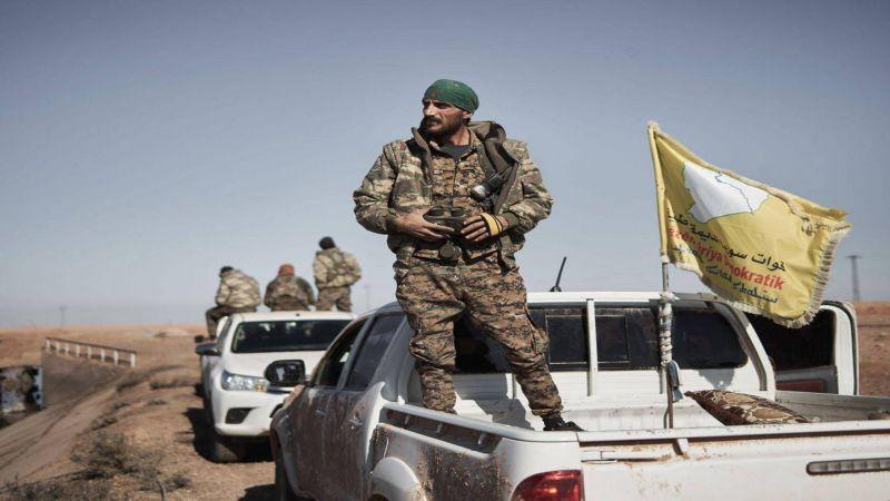 توتر العلاقات بين الأمريكيين والأكراد