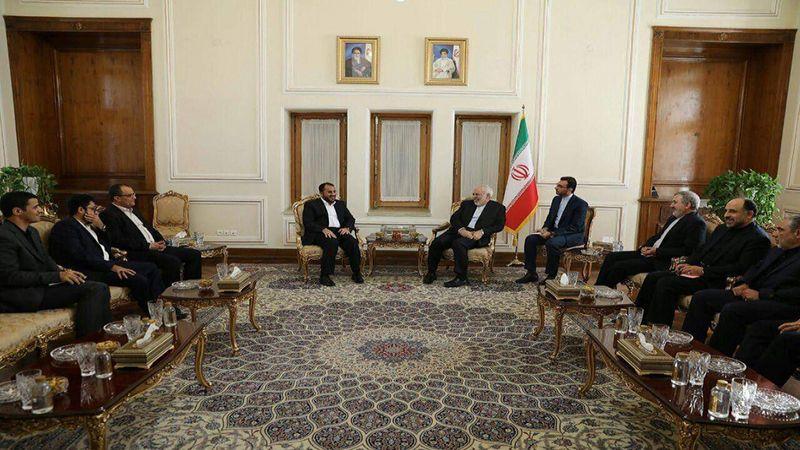 لقاء ظريف - عبدالسلام: بحث مسار وقف العدوان