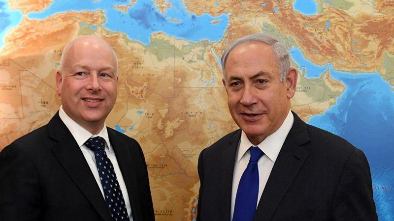"""غرينبلات يشيد بـ """"التحول الكبير"""" في علاقات الكيان الصهيوني مع جيرانه"""