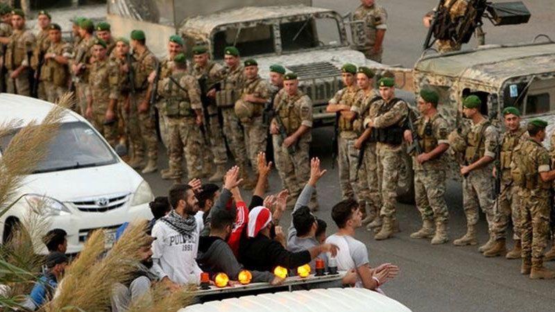 الجيش اللبناني يفتح غالبية الطرقات المُقفلة
