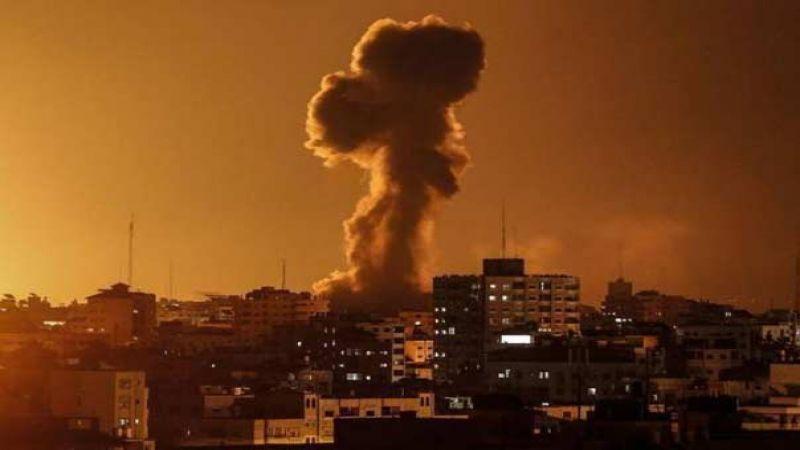 استشهاد فلسطيني واصابة اخرين في غارات اسرائيلية على قطاع غزة