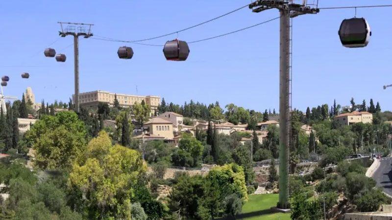 التهويد المستمرّ.. العدو يقر خطة القطار الهوائي في القدس المحتلة