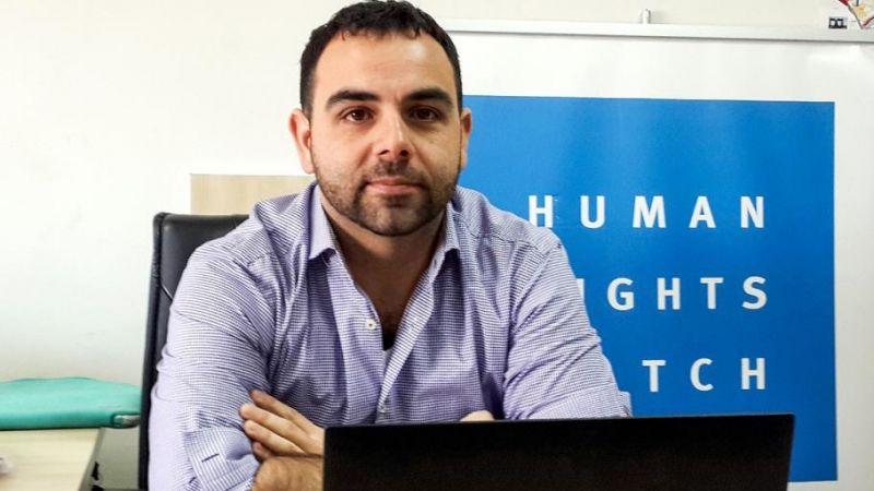 """العدو يطرد مدير منظمة """"هيومن رايتس"""" من الأراضي المحتلة"""