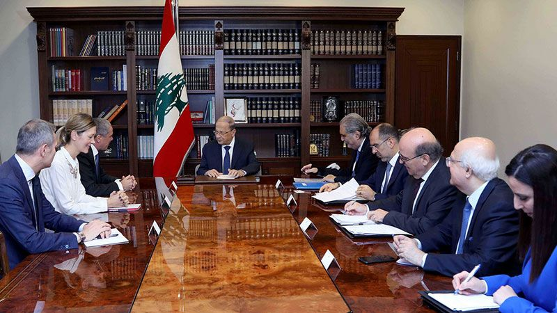 الرئيس عون: مجلس النواب سيباشر درس مشاريع قوانين اصلاحية