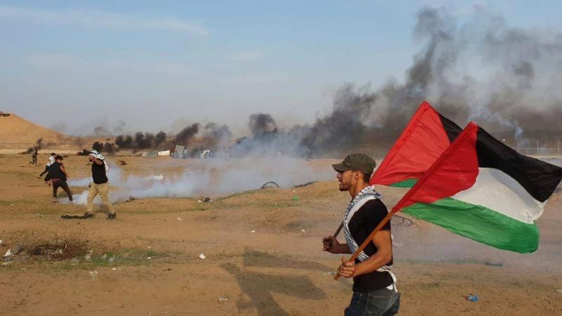 """عشرات الإصابات في جمعة """"مستمرون"""" شرق قطاع غزة"""