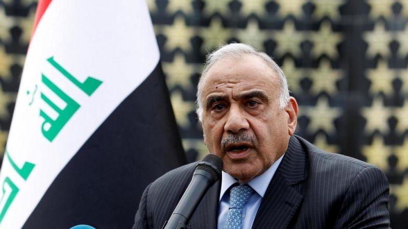رئيس الوزراء العراقي دعا المتظاهرين إلى الالتزام بالتظاهر السلمي للمطالبة بالحقوق المشروعة
