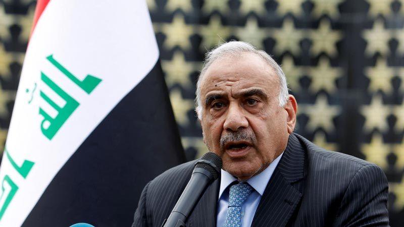 عبد المهدي: سنجري تعديلا وزاريا مهما لتحقيق مطالب المتظاهرين