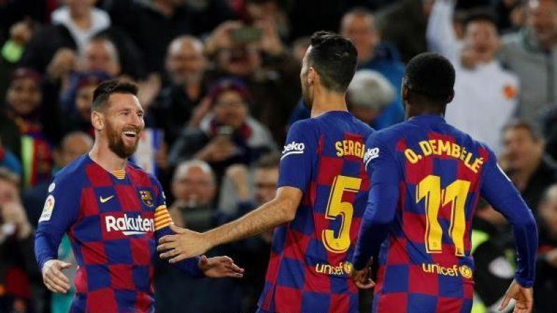 برشلونة يسحق سلتافيكو ويستعيد الصدارة