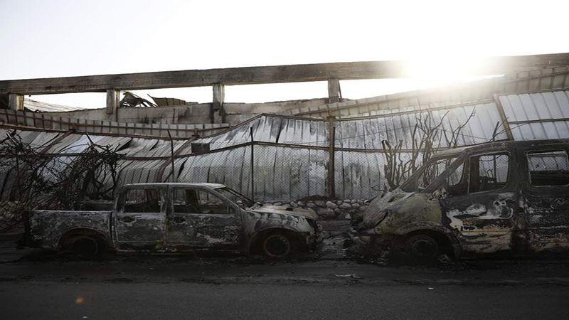 """خسائر كبيرة في مستوطنة """"سديروت"""" جراء صواريخ المقاومة الفلسطينية"""