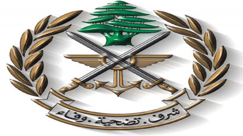 الجيش: توقيف عدد من المحتجين لتعرضهم للعسكريين ومحاولة الإعتداء عليهم