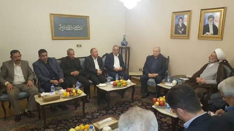 ذو النوري من دمشق: تنامي قدرات المقاومة يُقلق الكيان الصهيوني