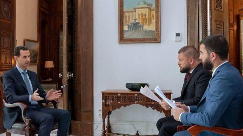 الرئيس الأسد: الوجود الأميركي سيولّد مقاومة عسكرية