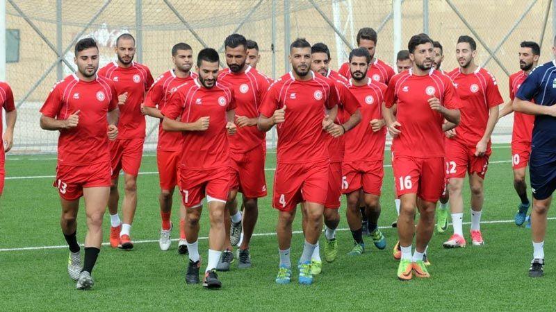 المنتخب اللبناني يستعد لمواجهة كوريا الشمالية