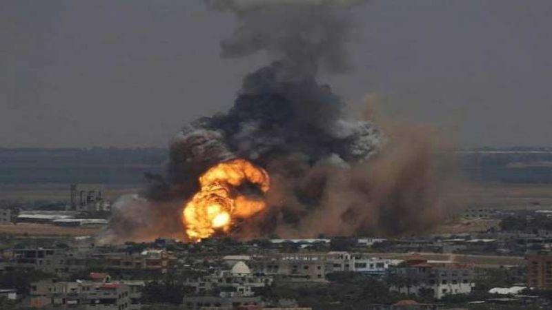 صاروخ على بئر السبع ..وطائرات الاحتلال تقصف مواقع للفصائل شمال قطاع غزة