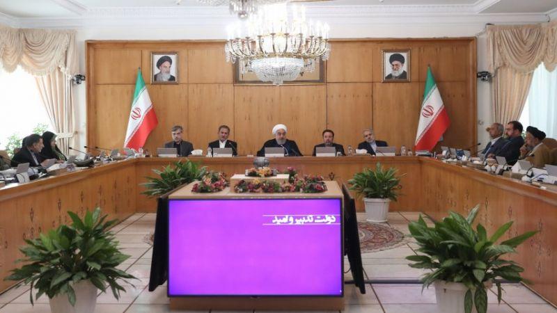 روحاني: الاحتجاج حق للشعب لکنه یختلف تمامًا عن نشر الفوضی