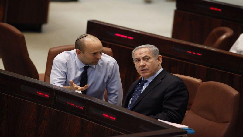 """بينت: أعداء """"إسرائيل"""" يتمنون تشكيل حكومة أقلية"""