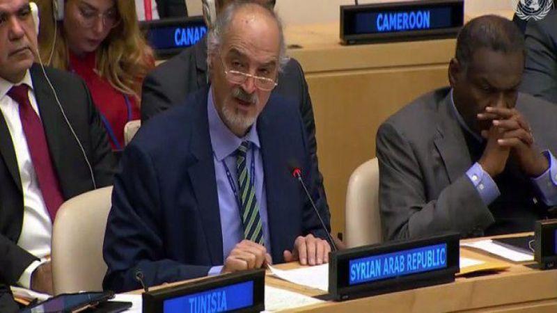 """الجعفري: """"إسرائيل"""" اليوم هي الطرف الوحيد في منطقتنا غير المنضم إلى اتفاقية منع الانتشار النووي"""