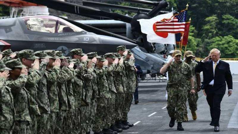 واشنطن تطلب مضاعفة المبالغ التي تدفعها طوكيو مقابل تمركز جنودها في اليابان