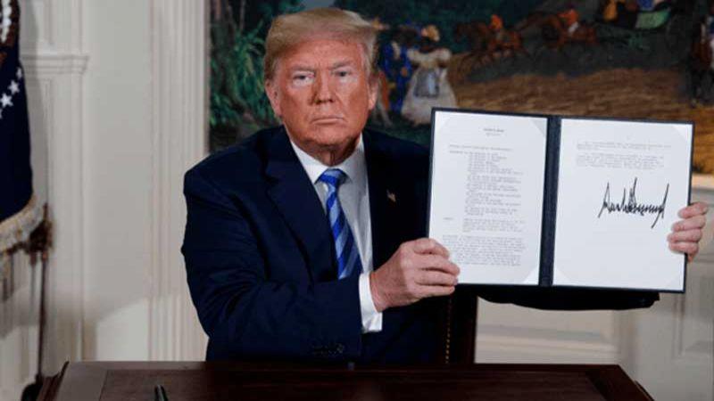 إرهاب اقتصادي أمريكي على إيران