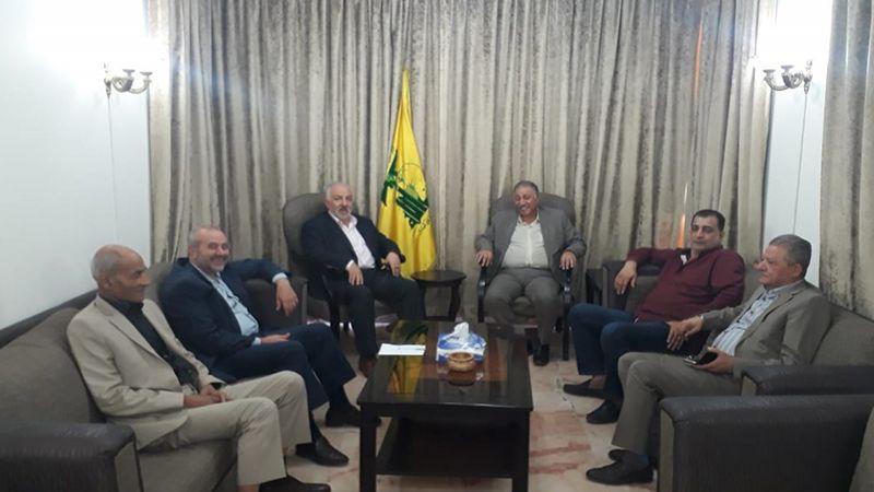 وفد قيادي من الجبهة الشعبية القيادة العامة يلتقي حزب الله