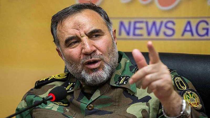 العميد حيدري: الجيش الايراني حقق اكتفاء ذاتيا بتقنية الطائرات المسيرة