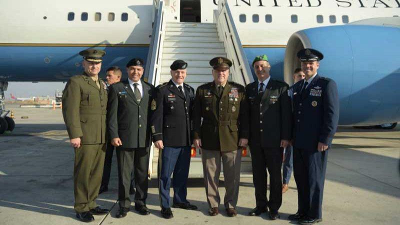 رئيس اركان الجيوش الأميركية مايك ميلي يزور الأراضي المحتلة