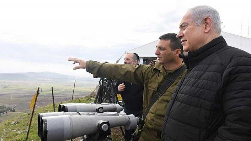 نتنياهو يهدد إيران من الجولان المحتل