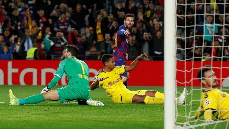 برشلونة يحسم صدارة مجموعته في دوري الأبطال