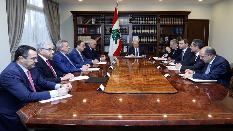 اجتماع بعبدا المالي: تكليف حاكم مصرف لبنان اتخاذ التدابير المؤقتة