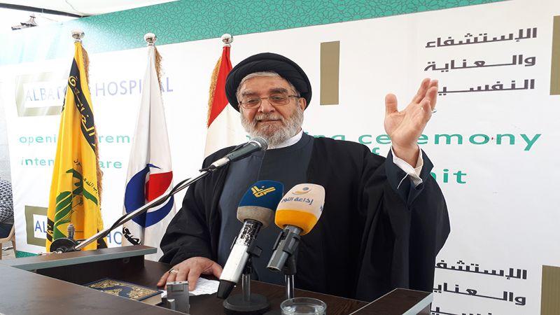 السيد ابراهيم أمين السيد: لحكومة قادرة على علاج الأزمات