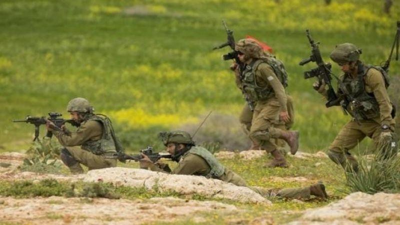 انطلاق مناورة عسكرية للعدو في منطقة غور الأردن